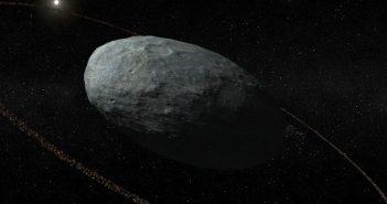 За откривањето на прстенот околу џуџестата планета Хаумеа