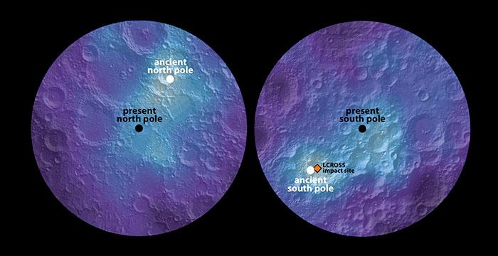 Пронајдени нови резерви од мраз во осветлените поларни области на Месечината