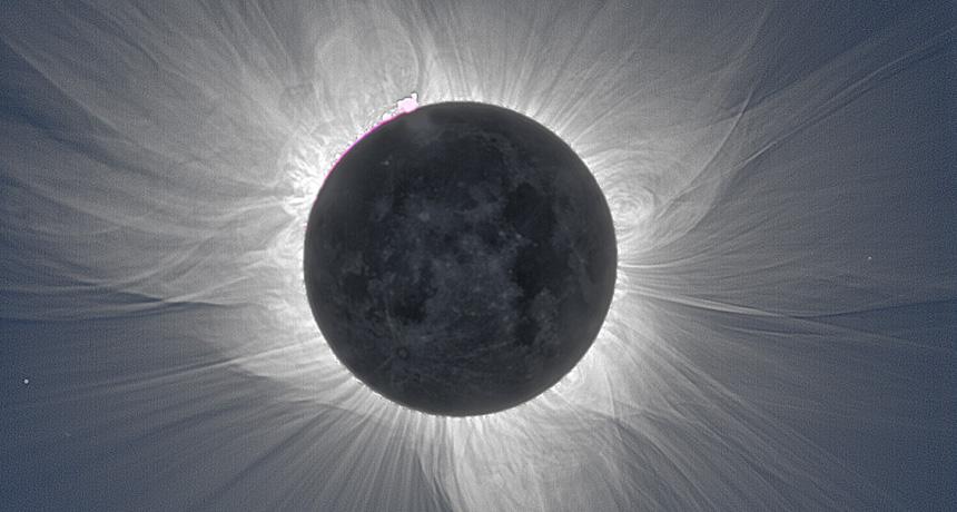 Дали короната изгледа различно во периоди на висока и ниска Сончева активност?