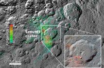 Истражување на потеклото на органските материи на Церера