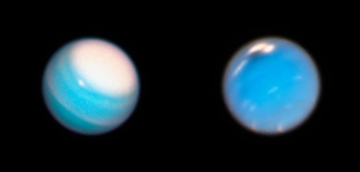 Телескопот Хабл ни дава поглед на масивните бури на Уран и Нептун во текот на летото