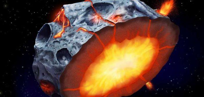 метален астероид