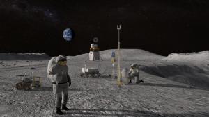 површина на месечината