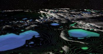 Научниците ја направија првата сигурна детекција на вода на Месечината
